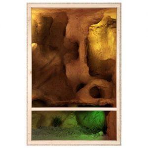 Verschiedene Größen Holzterrarium
