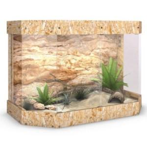 terrarium holzterrarium holz panorama repti -schildkroete glas schiebetuer 120x8