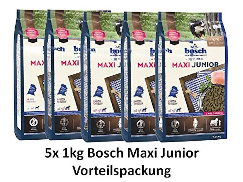 Bosch 44019 Hundefutter Junior Maxi Plus 3 kg