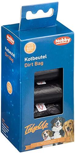 Nobby TidyUp Kotbeutel Vorratspack schwarz 10 Rollen á 15 Beutel