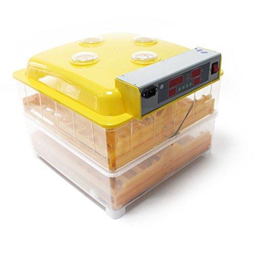Wiltec Automatische Brutmaschine Inkubator für 112 Eier