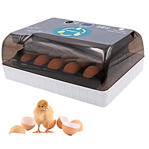 M.Z.A Brutmaschine Vollautomatisch 12 Arten Von Eierbrutschrank digitales Brutmaschine Mit Temperaturkontrollfunktion für Eier GeflüGel Enten HüHner