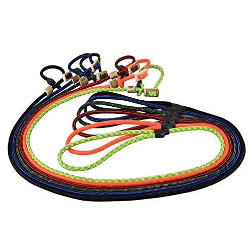 Romneys Hundeleine mit Halsband 6mm   Moxonleine Retrieverleine Agilityleine   Mit Zugbegrenzung, Zugstopp aus Hirschhorn (Schwarz, 100 cm)