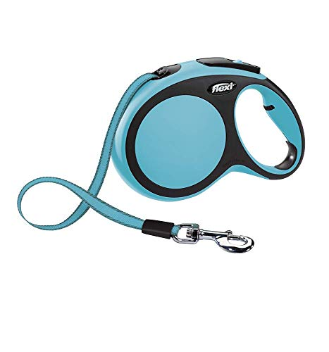 flexi New Comfort L Gurt 5 m blau für Hunde bis 60 kg