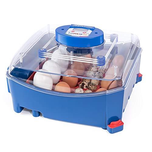 Borotto automatische LUMIA 16 - Patentierte professionelle Brutmaschine mit automatischem Eierwender - für 16 Eier mittlerer/großer Dimension oder 64 kleine Eier
